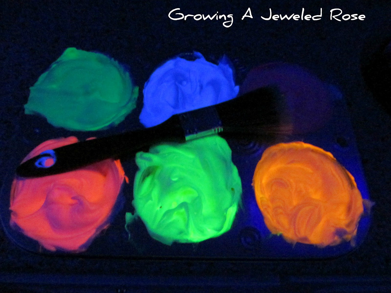 Image result for glow in the dark bath paint